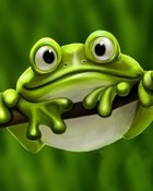 cute frog.jpg wallpaper 1