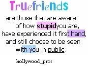 Free True Friends3.jpg phone wallpaper by ladytrain1979