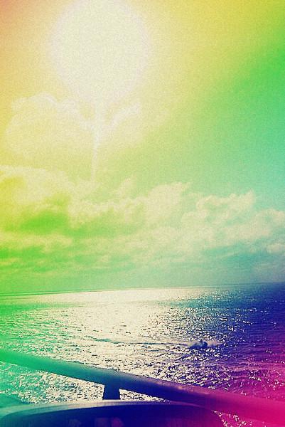 Free rainbow beach. phone wallpaper by iheartpink