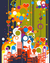Free a-free-wallpaper-representing-an-abstract-modern-colorful-city-0271.jpg phone wallpaper by pinkrose2