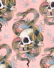 Free pink-hard-skull-drawing.jpg phone wallpaper by laurenhutchison