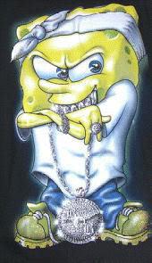 Free Gangster Spongebob phone wallpaper by uzueta