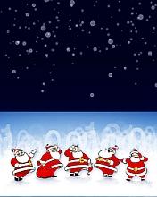 Free Santa phone wallpaper by iamlal2