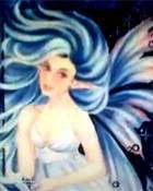 blue fairy wallpaper 1