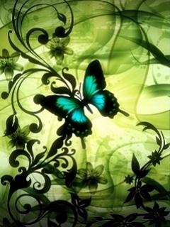 Free butterfly phone wallpaper by carmen