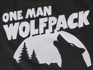 Free one man wolf pack phone wallpaper by nikkixxo8