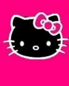 hot pink hello kitty