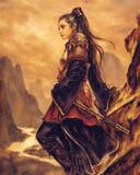 Free Samurai Girl2 phone wallpaper by szekusz