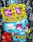 Ed Hardy King Skull