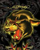 Ed Hardy Black Panter