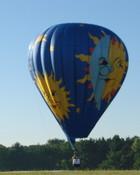Hot Air Balloon Moonlight Sun-ATA