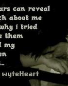 broken heart tears