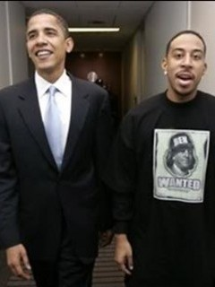 Free Ludacris & Barack Obama phone wallpaper by kathyv714
