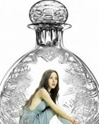 Woman Bottle wallpaper 1