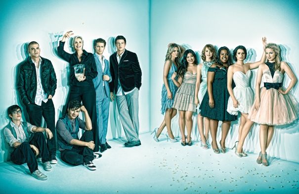Free Glee Cast.jpg phone wallpaper by luis_machado