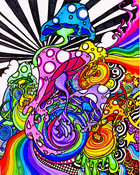 Melting_Mushrooms_by_Spookychild.jpg wallpaper 1
