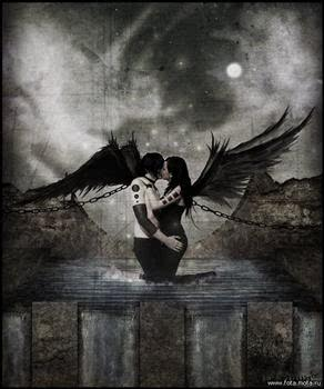 Free goth%20angels.jpg phone wallpaper by metalhead0426