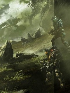Free Halo Reach phone wallpaper by gregory003