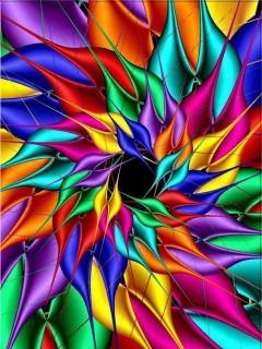 Free Crazy Rainbow.jpg phone wallpaper by whytchocolate30