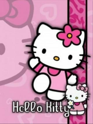 Free Hello Kitty Flower.jpg phone wallpaper by whytchocolate30