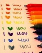 I love u Markers.jpg