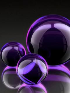 Free Purple Marbles.jpg phone wallpaper by srose18