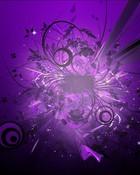 abstract purple  wallpaper 1