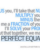 The Perfect Equation wallpaper 1