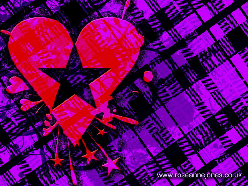 Free heartplaidwallpaper.jpg phone wallpaper by sexy_boy