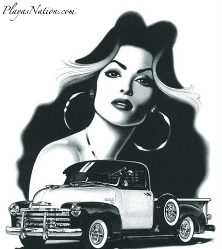 Free chicana phone wallpaper by gangstergirl