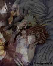Free VampireKnight Zero and Yuki phone wallpaper by 10001