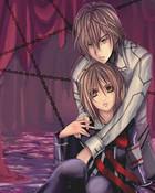 Vampire Knight Kaname and Yuki wallpaper 1
