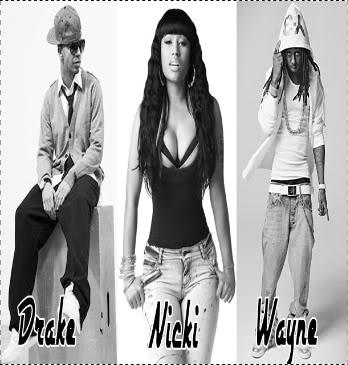 Free Nicki Minaj; Drake; Wayne phone wallpaper by dlong01