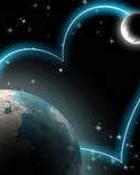 hearts&planets wallpaper 1