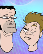 Tim and Eric toons wallpaper 1