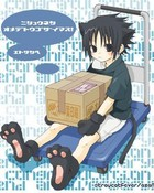 Sasuke as a kitty