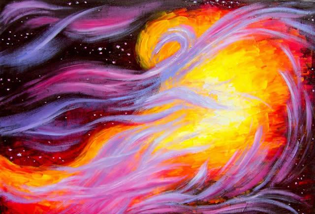 Free Stellar Waves phone wallpaper by brandiwig84