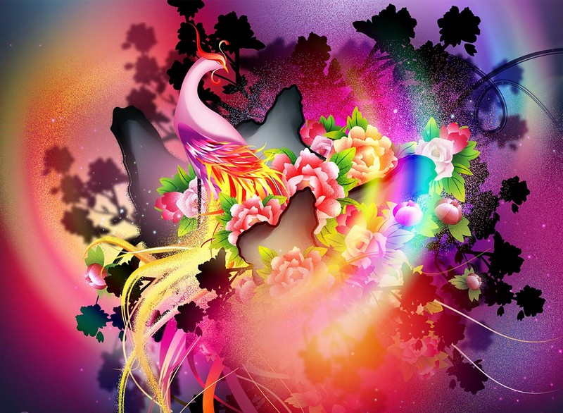 Free the phoenix phone wallpaper by brandiwig84