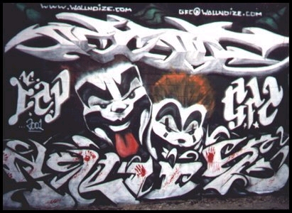 Free ICP Graffiti phone wallpaper by k2manning