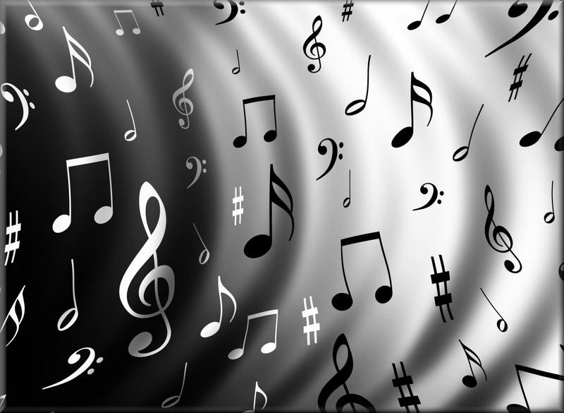 Free Music note waves  phone wallpaper by brandiwig84