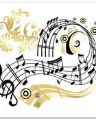 music note spirals