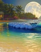 Lunar Solitude wallpaper 1