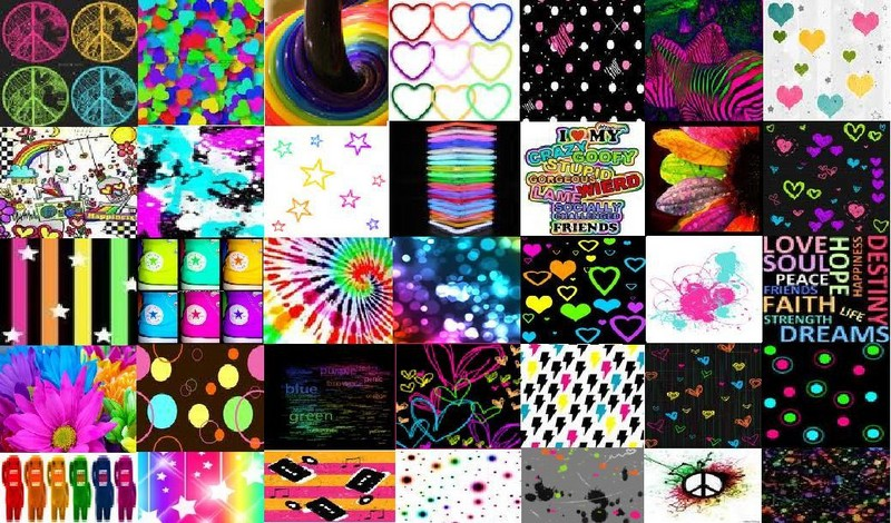 Free Colorful Collage phone wallpaper by analisa13