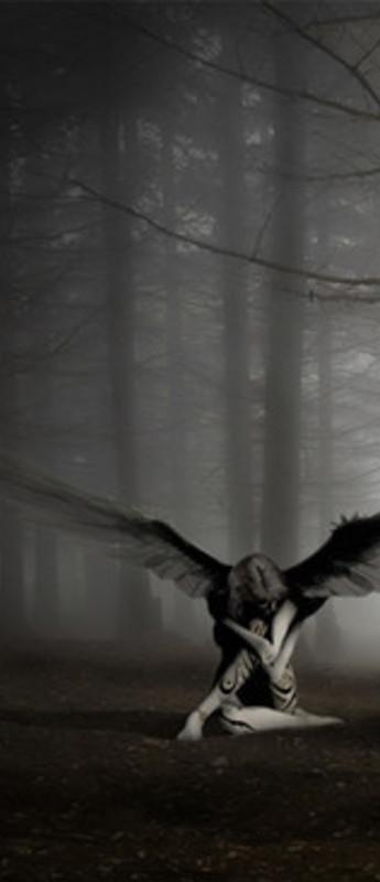 Free Fallen Angel phone wallpaper by unknownforyou