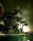 Tropical Island wallpaper 1