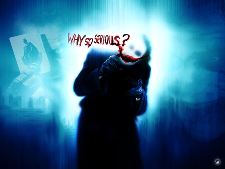 Free Why So Serious? phone wallpaper by k2manning