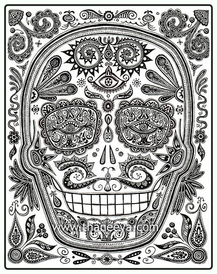 Free draft_lens2258341module12306442photo_122504188050-day-of-the-dead-skull.jpg phone wallpaper by rhondaclaridge