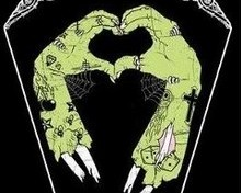 Free zombie heart phone wallpaper by shortness22