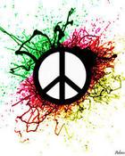 peace-green-red-pattern.jpg wallpaper 1