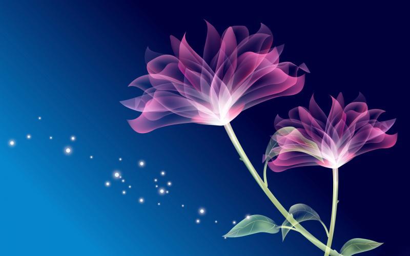 Free Pink Neon Flower phone wallpaper by brandiwig84